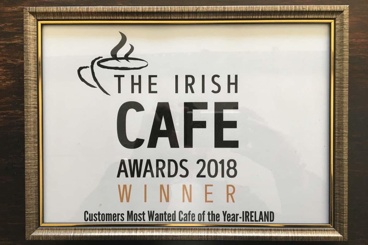 The Irish Cafe Awards Winner Cafe De Mode Ballon Carlow