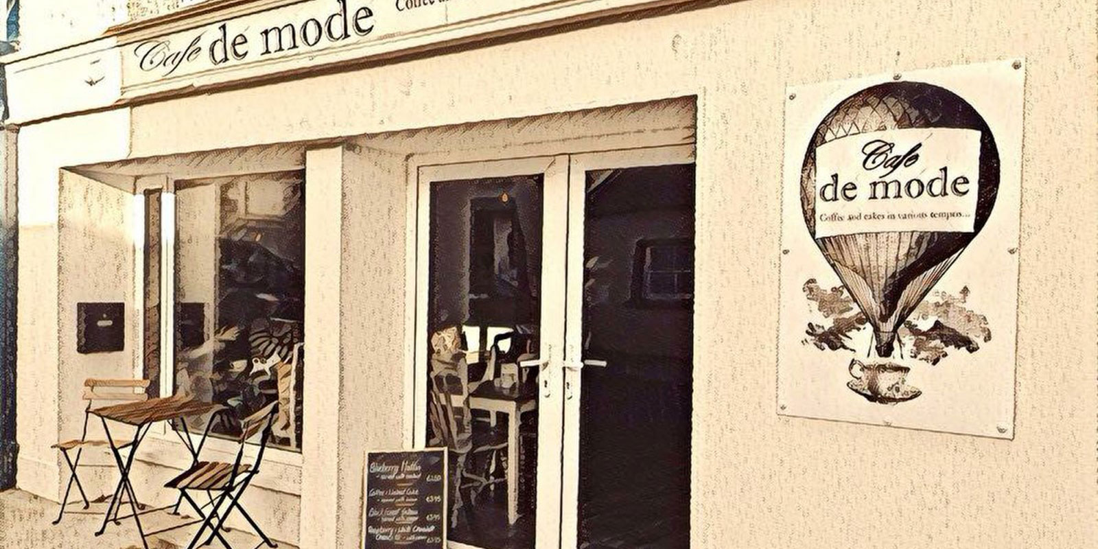 where is cafe de mode - ballon - carlow