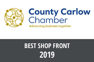 Cafe De Mode Carlow Co Chamber: Best shop front 2019