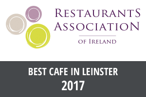 Restaurant Association Ireland: Best cafe in Leinster 2017