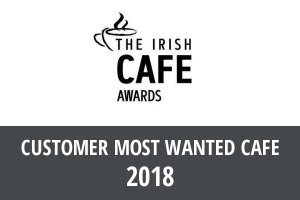 Cafe De Mode Irish Cafe Awards: Customer most wanted cafe 2018